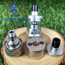 купить dvarw mtl rta Vaper vape mod kit Gem Mini RTA Rebuildable Tank Atomizer 316 Stainless Steel fit 510 Mods E Cigarette Top Quality в интернет-магазине