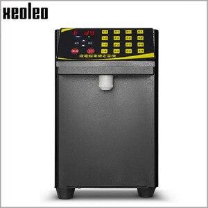 Image 2 - XEOLEO 버블 티 설탕 디스펜서 9L Fructose 정량 machine16 그리드 자동 Fructose 기계 시럽 디스펜서