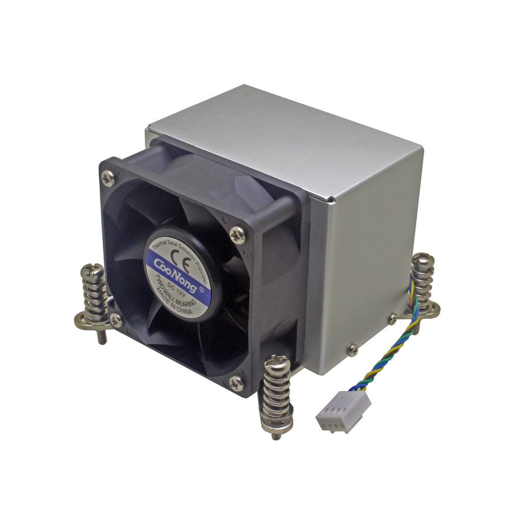2U server CPU cooler Copper base+aluminum fin heatsink cooling fan for Intel 1150 1151 1155 1156 i3 i5 i7 Active cooling