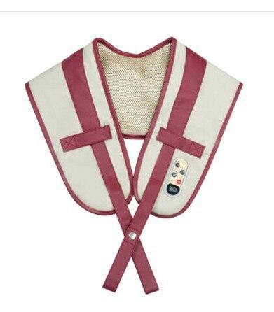 Massage device shoulder neck massager shawl cervical massager neck waist beat back percussion instrument body spa