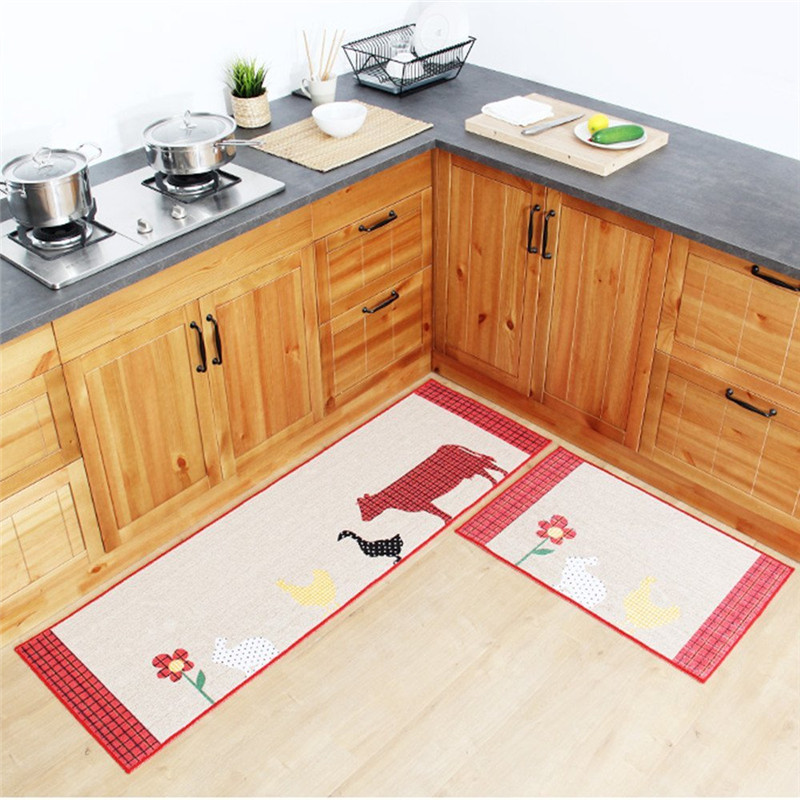 Fadfay Beer Washable Bathroom Rugs Large 2 Piece Non Slip Rubber