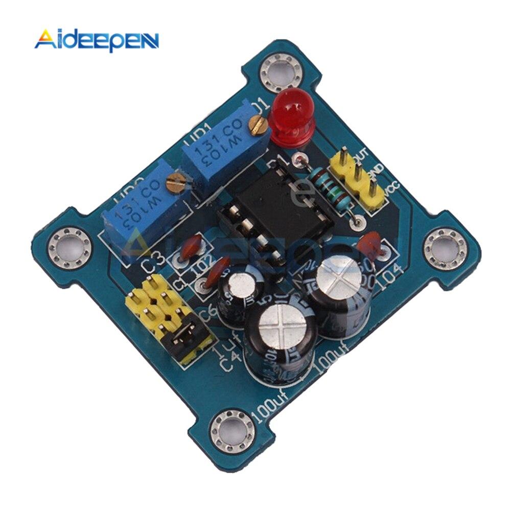 NE555 импульсная частота Регулируемый Модуль рабочего цикла квадратный волновой генератор сигналов DIY Kit Генераторы сигнала      АлиЭкспресс
