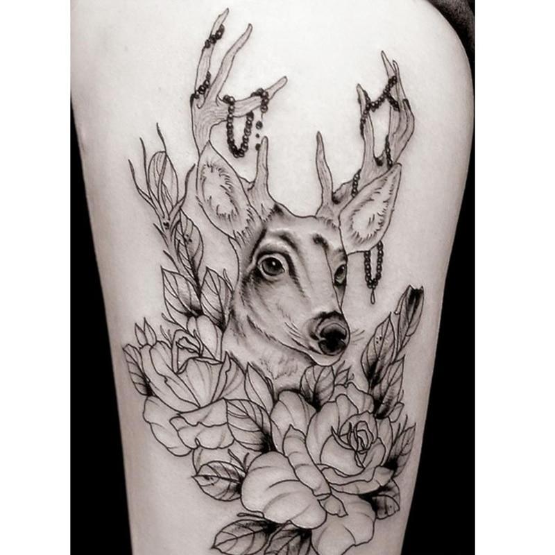 ∞10 unids impermeable tatuaje temporal Adhesivos La Cuerpo arte ...