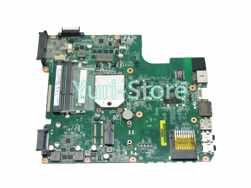 NOKOTION For Toshiba Satellite L645D A000073410 Laptop Motherboard Socket s1 ddr3 31TE3MB0040 DA0TE3MB6C0 Mainboard nokotion v000225000 motherboard for toshiba satellite c655 laptop mainboard 6050a2355202 hm55 pga989 ddr3 fully tested