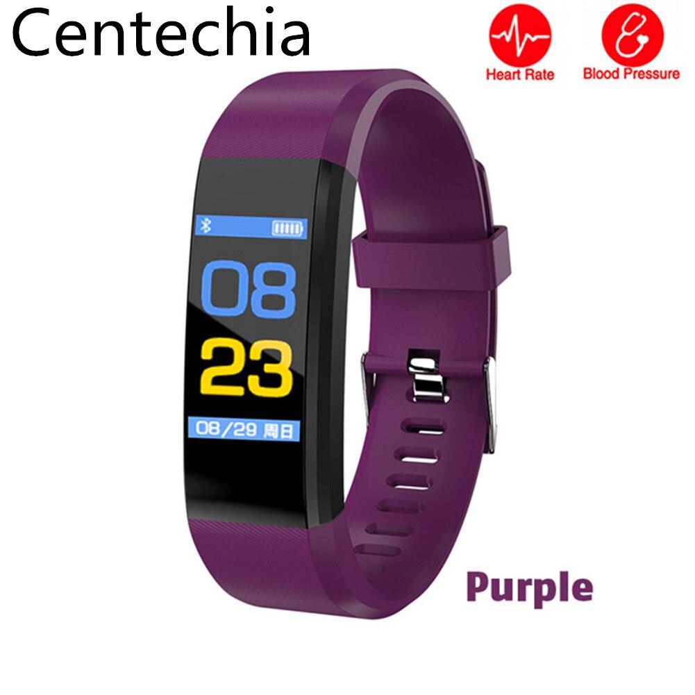 ID115 PLUS Smart Wristband deportes Smart banda Fitness Tracker Smart pulsera impermeable reloj inteligente para IOS Android