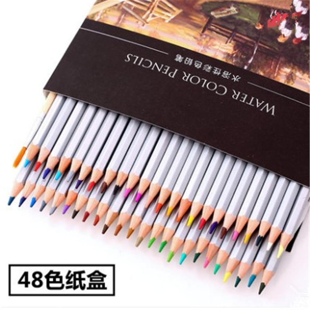 24/36/48/72 colors pencil water color pencils painting colorful watercolor pen student supplies paint pencil
