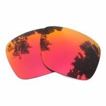 13bbf282069c6 Rojo naranja Mirrored lentes de reemplazo para las gafas de sol Holbrook  marco 100% UVA y UVB Anti-Scratch Anti-reflectante