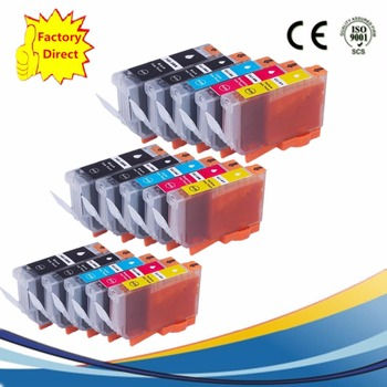 PGI-5BK PGI 5 5BK PGI-5 CLI-8 Ink Cartridges Replacement For  IP-5200 IP-5200R IP-5300 IX-4000 IX-5000 MP-500 MP-510