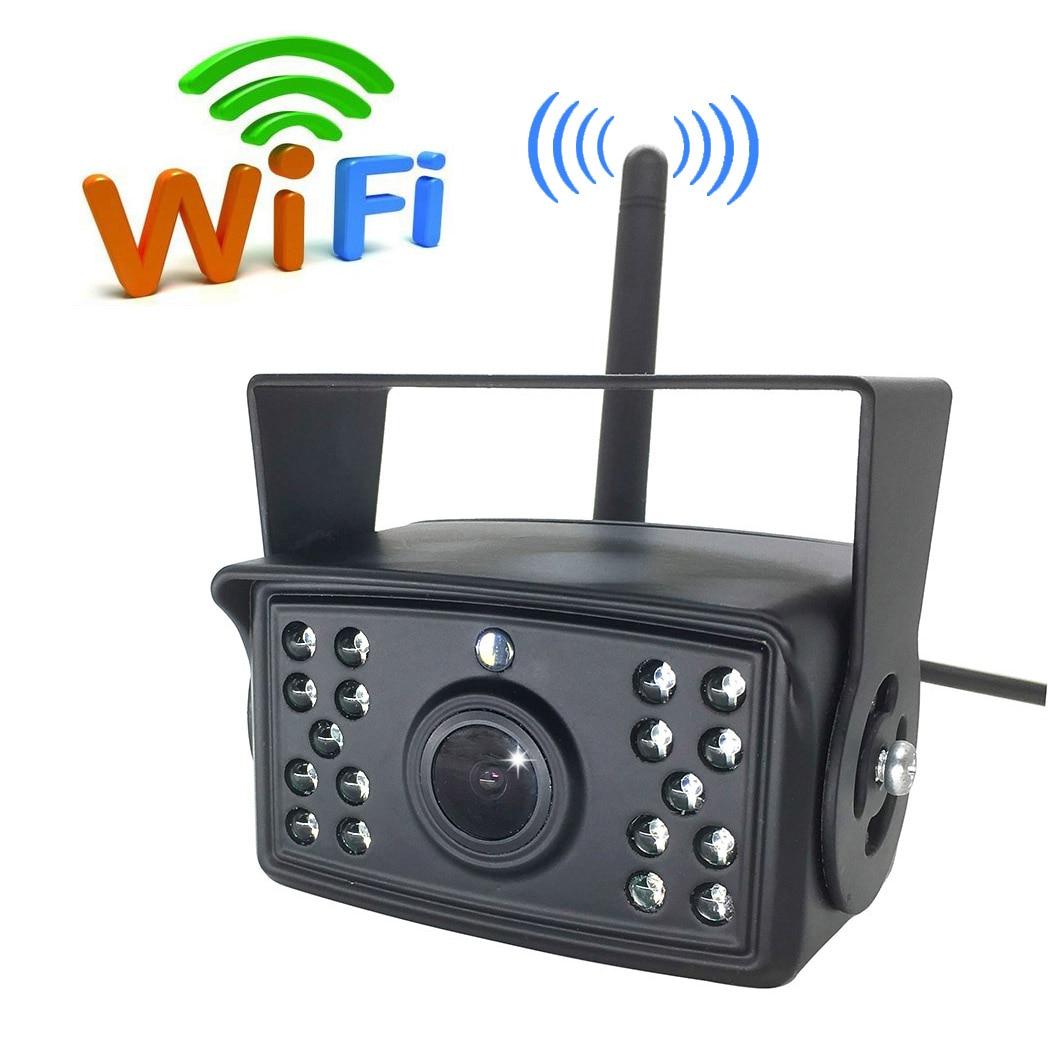 Consumer Electronics Wifi App Wireless Phone Backup Camera Reverse Camera Trucks Rv Trailers Campers Rear View Monitors Cams Kits