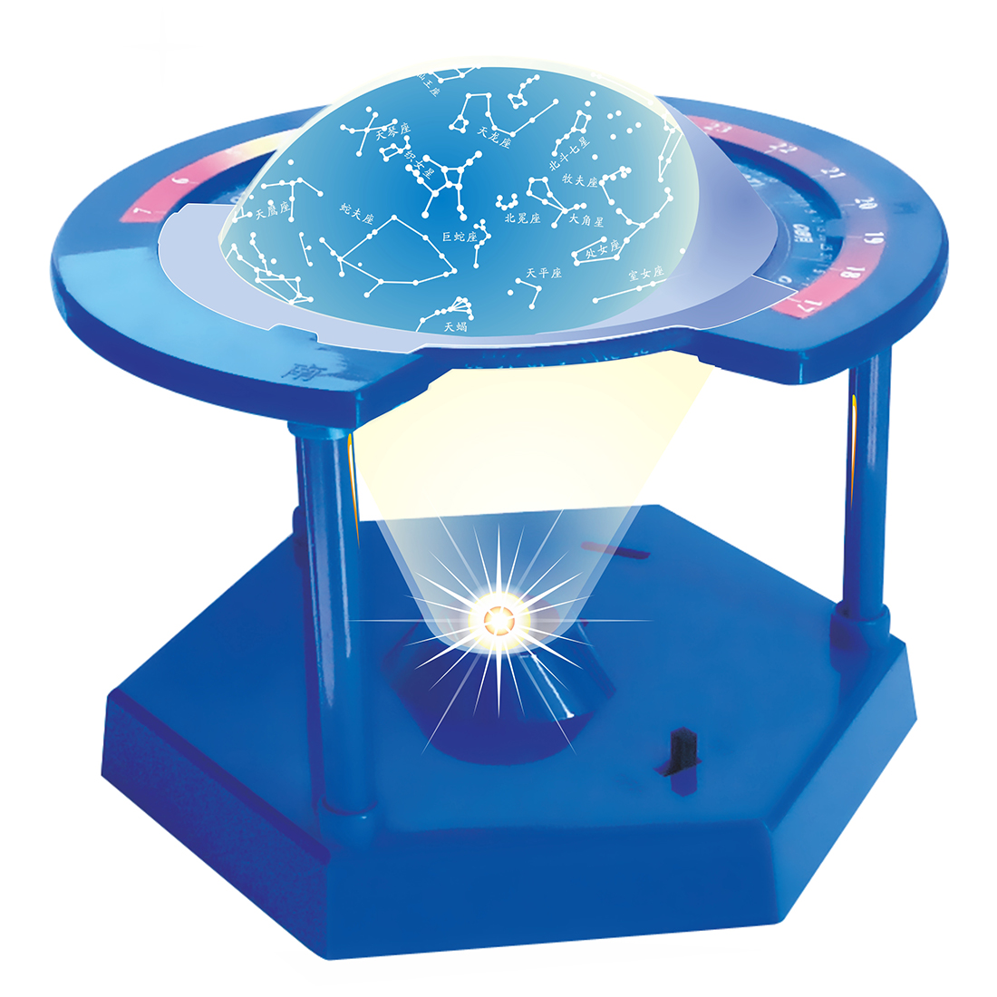 Free Shipping Rotating Constellation Children Experiment ...