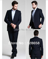 FREE shipping one buttons Business Suit/male suit/wedding suits slim fit fashion men/mens plus size