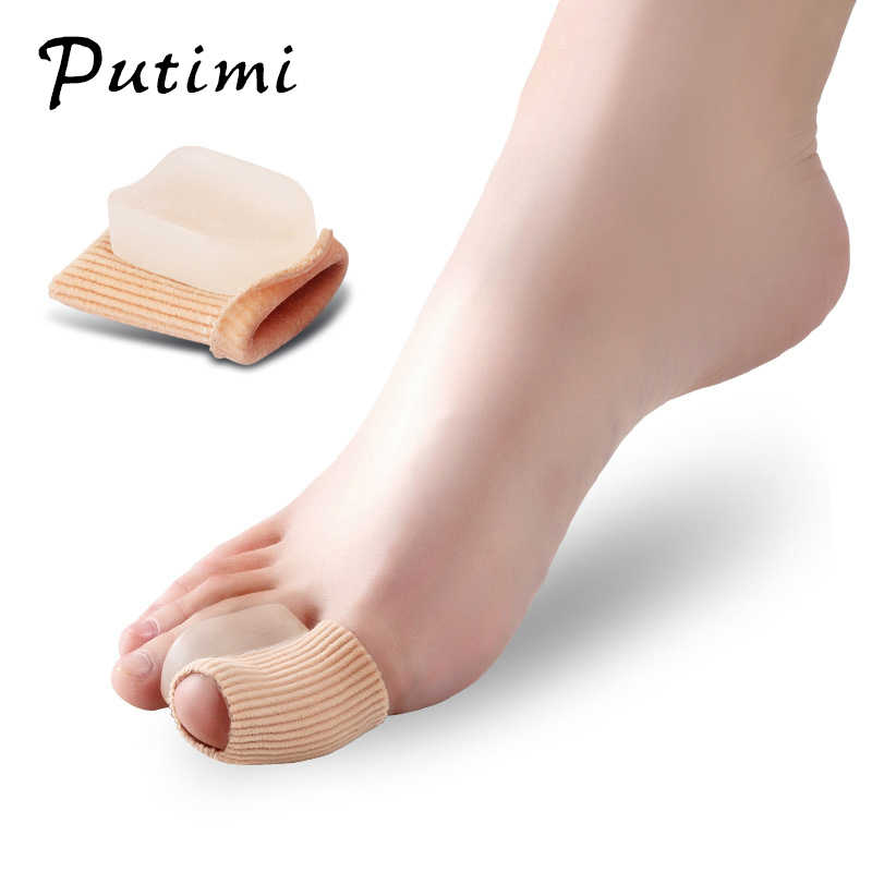 Putimi 2pcs Hallux Valgus Correction of the Thumb Bone Orthopedic Orthortic Big Toe Corrector Bunion Pedicure Tools Foot Care
