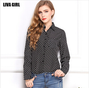 2014 New Fashion Women Chiffon long Sleeve Ruffles Shirt Blouse Tops Solid Color Blouses OL Style Round Collar 4 Colors DX21