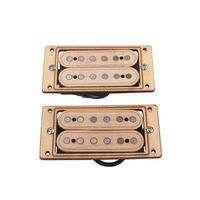2019 2pcs/set Maple Wood 6 string Humbucker Pickups for Electric Guitar Replacement Parts Accessory