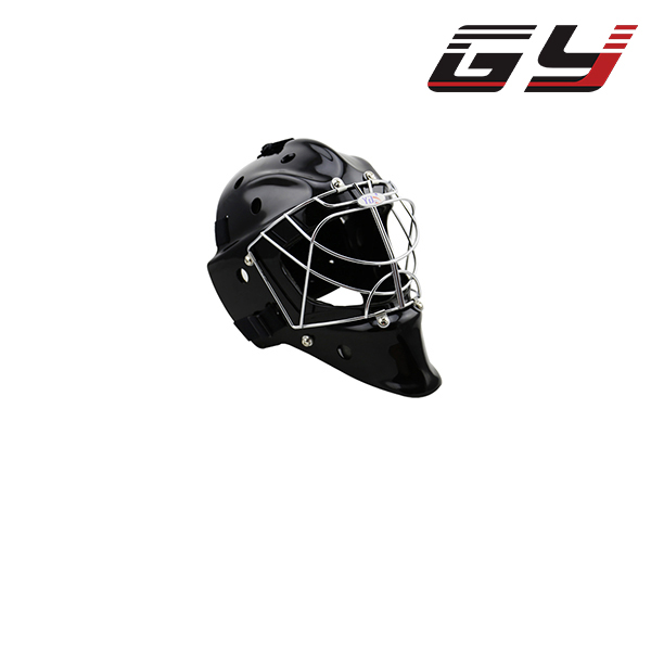 Floorball Goalie Helmet Street Hockey Face Mask Black Goalie Head Protector With Cage goalie mask hockey goalie helmet for goalikeeper free shipping