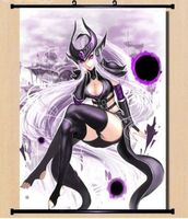 Hot LOL League of Legend The Dark Sovereign Syndra Home Decor Poster Wall Scroll