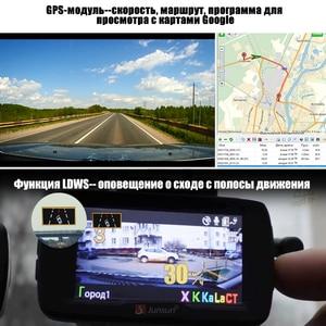 Image 4 - Junsun L2 3 w 1 wideo rejestrator samochodowy kamera DVR Ambarella A7 wykrywacz radaru GPS systemu ostrzegania przed niezamierzo