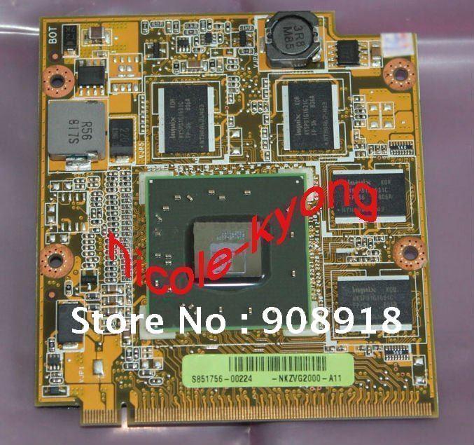 Graphics VGA Video card 1G HD3650 NKZVG2000 08G2018FV11Q M86 for ASUS A8 A8S A8SC A8SR A8SE laptop