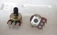[BELLA] Edifier Sound potentiometer 161 Vertical single joint potentiometer B10K handle length 11MM  –50PCS/LOT