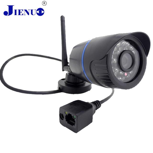 Cámara Ip Inalámbrica Wifi HD 720 P impermeable Al Aire Libre de Vigilancia de Seguridad Mini cámara de Red de Cámaras Bullet IR Cut Cámara de Infrarrojos