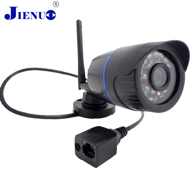 Câmera Ip Sem Fio Wi-fi HD 720 P impermeável Ao Ar Livre Segurança Vigilância Mini Câmera cam Rede de Câmeras IR Cut Bala Infravermelho