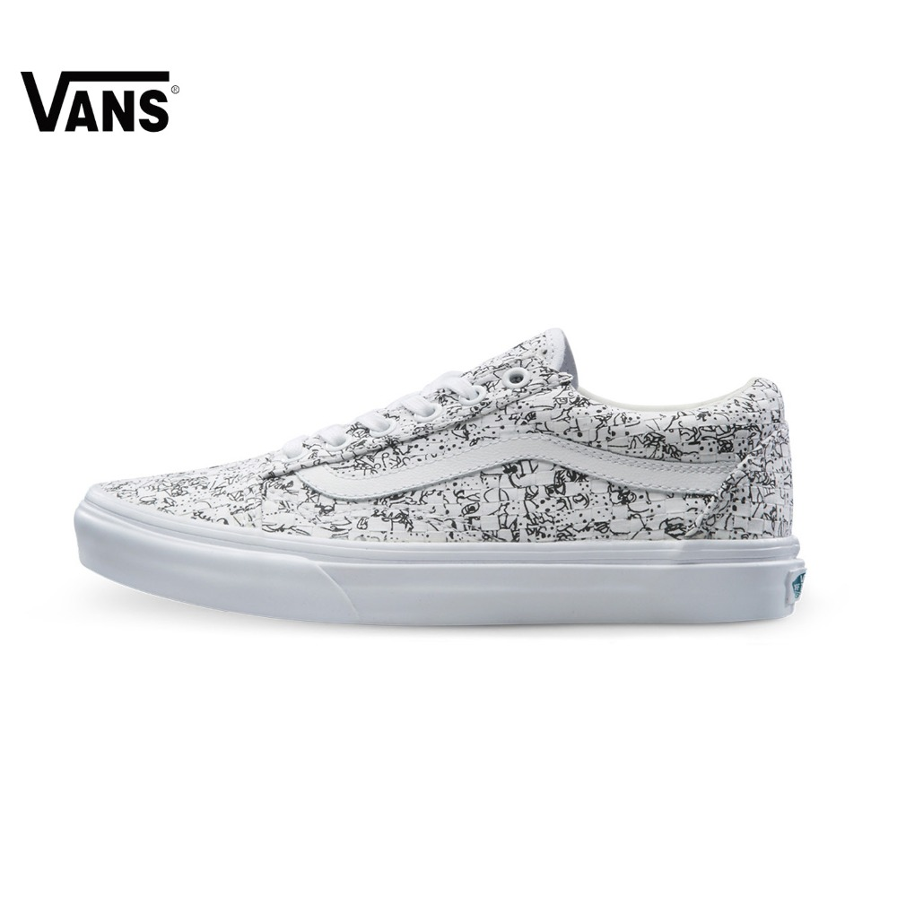 Original Vans New Arrival Low-Top Women's Skateboarding Shoes Sport Shoes Canvas Shoes Sneakers free shipping original vans white color women skateboarding shoes sneakers beach shoes canvas shoes free shipping