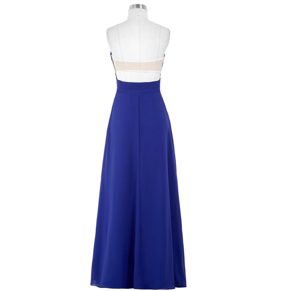 Lavendel Grün Blau Brautjungfer Kleider Lange Hochzeit Kleid ...