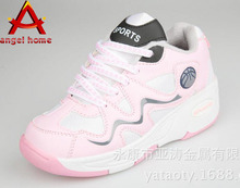One wheel shoes Heelys Baby girls fall automatically invisible button wheels Baby shoes roller Skate sports  shoes