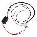 New 12V 5A Car LED DRL Relay Daytime Running Light Relay Harness Dimmer Auto Car Controller On/Off Switch Parking Light