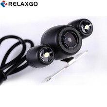 Relaxgo Aggiornamento HD 720 P Macchina Fotografica di Retrovisione Per Auto DVR Auto Telecamera Posteriore di Parcheggio Funzione Reverse Image 120 Gradi Ampio angolo