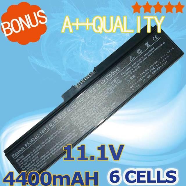 Batería del ordenador portátil para toshiba satellite pro c650 c660d l630 l670 u400 U500 C650D C660 L640 T110 T115 T135 U405D U400 U405 A660D