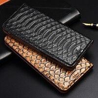 TOP Luxurious Flip Stand Case For Huawei Nova 2 2S 3 3i 3e 4 4e 5 5i Pro Plus Cover Genuine Cow Leather Phone Case