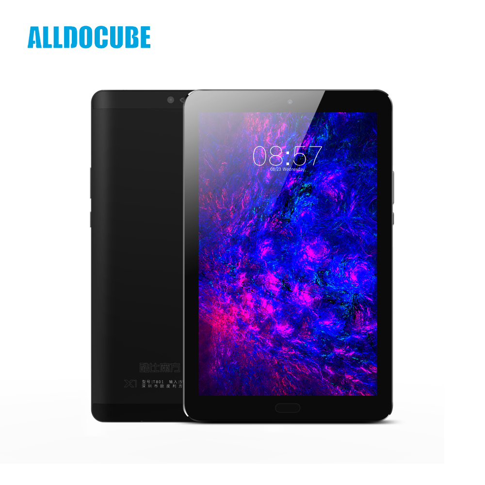 ALLDOCUBE X1 4G Phone Call Tablet PC 8.4 Inch 2560*1600 IPS MTK X20 Deca core Android 7.1 4GB RAM 64GB ROM 13MP GPS Fingerprint alldocube x1 4gb ram 64gb rom 2560 1600 mtk x20 mt6797 deca core cube x1 8 4 inch android 7 1 dual 4g tablet pc