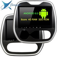 TDA7851 Android Car DVD Multimedia Player For Renault Capture MT AT 2011 2012 2013 2014 2015 2016 2017 GPS Glonass Map RDS Radio