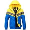 Бесплатная доставка 2016 зима новый мужские мужские хлопка мягкой пуховики ватные моды Шинель, Пиджаки, Пальто, куртка толщиной