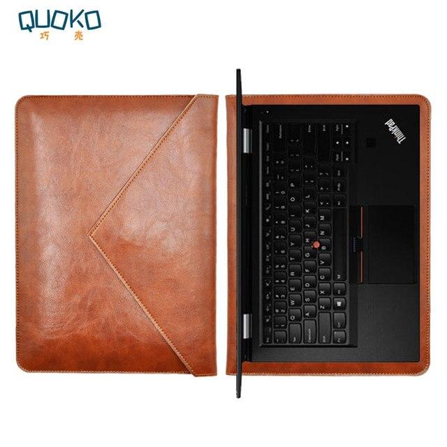 Сумка для ноутбука чехол микрофибры кожаный чехол для lenovo Thinkpad T460 T470 T480 14 дюймов двойной карман конверт стиль