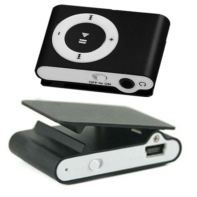 חדש מכירה לוהטת 8 סוכריות צבעים מראה נייד MP3 נגן מיני קליפ MP3 נגן עם חריץ TF עמיד למים ספורט Mp3 מוסיקה ווקמן