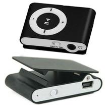New Hot Sale 8 Candy Colors Mirror Portable MP3 Player Mini Clip MP3 pl