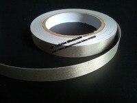 1x 16mm 20 Meters EMI EMC Shielding Conductive Fabric Adhesive Tape Silver Single Adhesive