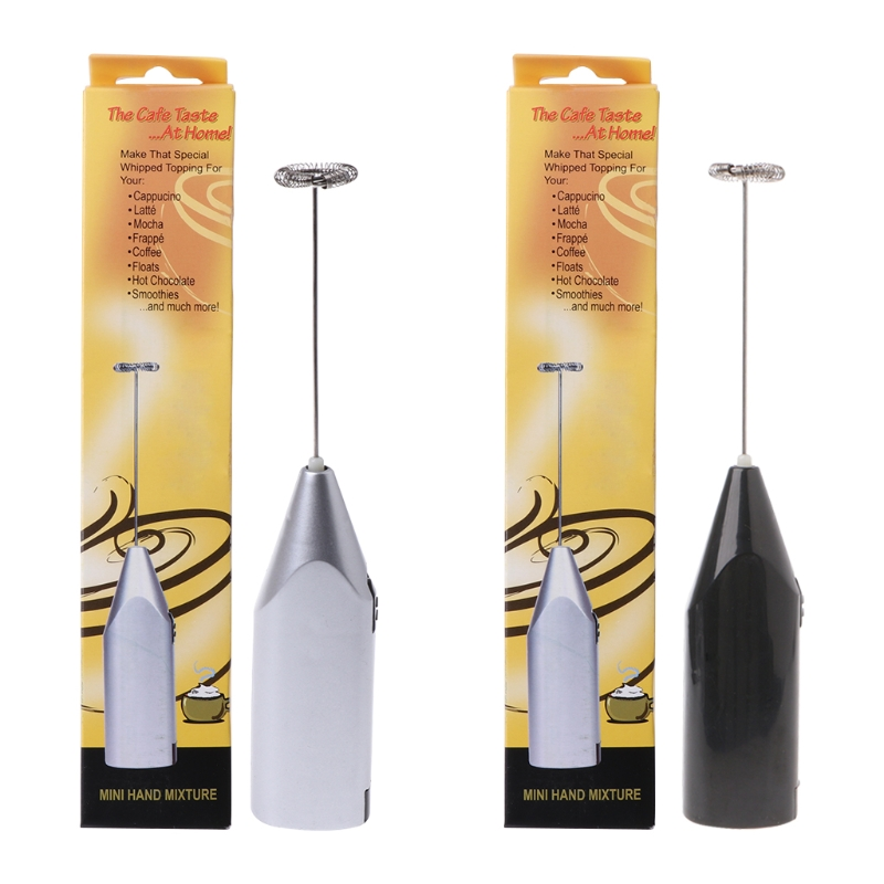 Milk Frother Whisk Handheld Battery Operated Electric
