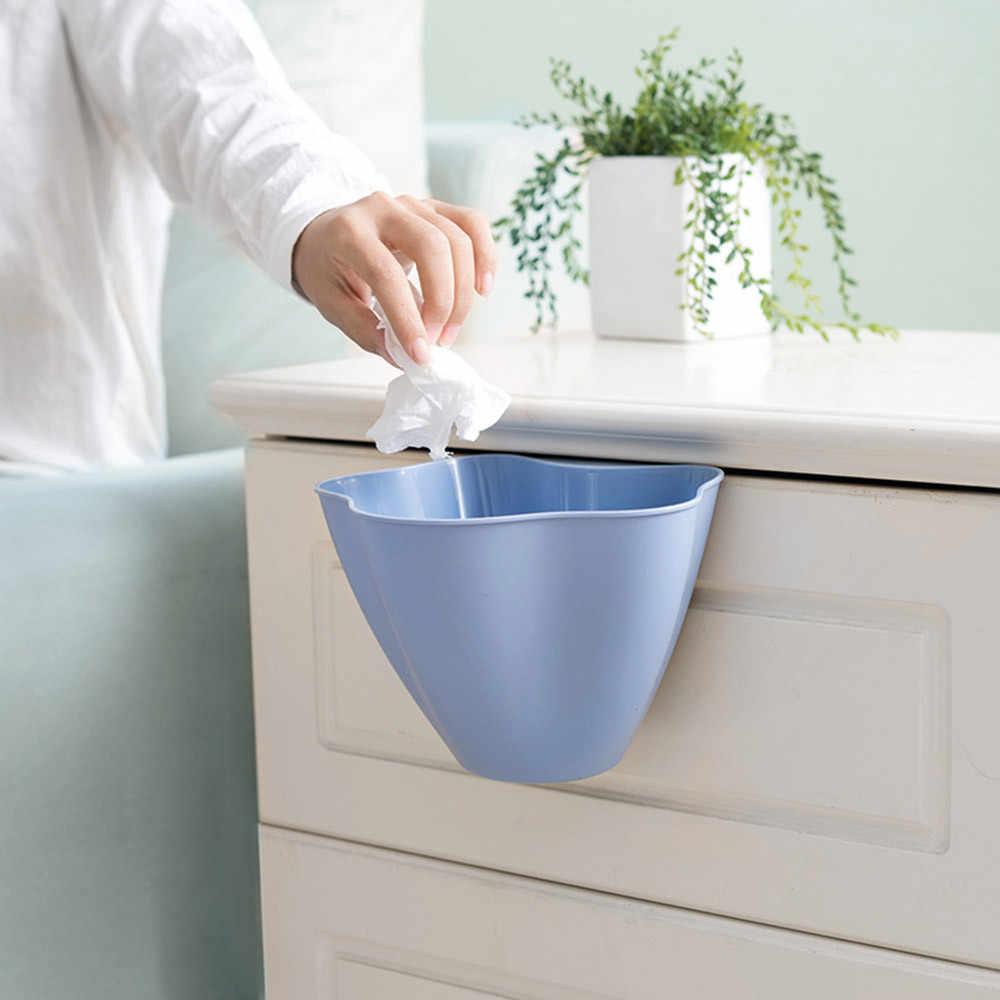 ประตูห้องครัวถังขยะใหม่ห้องครัวตู้เสื้อผ้าประตูแขวนถังขยะขยะคอนเทนเนอร์ขยะ Mini 2018