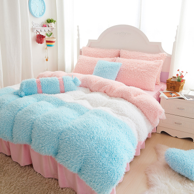 warm in sheet bedding garden set linen home crystal size cover duvet sets king winter flannel fleece item bed queen embroidery towel from