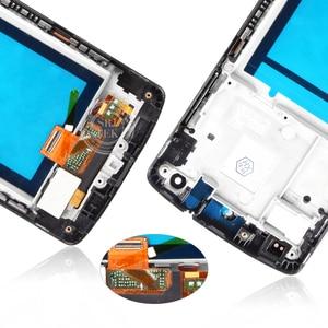"""Image 5 - Original 4.95 """"IPS für LG Nexus 5 LCD Display Touchscreen Digitizer Montage mit Rahmen Nexus5 D820 D821 Bildschirm ersatz"""