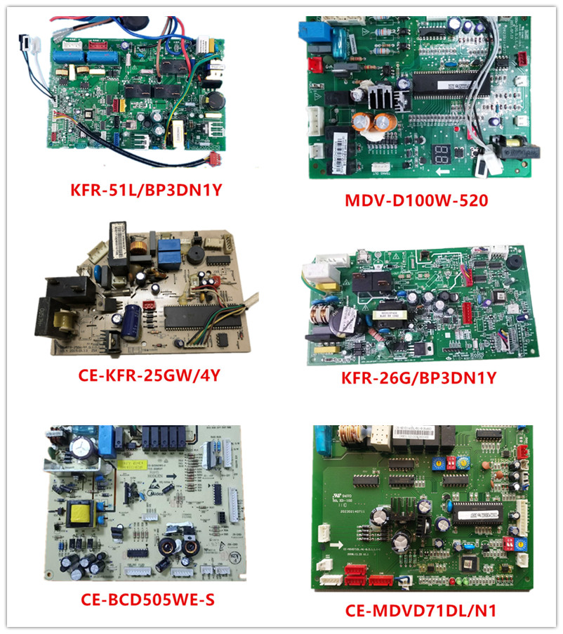 KFR-51L/BP3DN1Y| MDV-D100W-520| CE-KFR25GW/4Y| KFR-26G/BP3DN1Y| CE-BCD505WE-S| CE-MDVD71DL/N1 Good Working Used