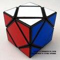 Lanlan Skewb Cubo mágico en blanco y negro rompecabezas de aprendizaje y juguetes educativos Cubo juguetes