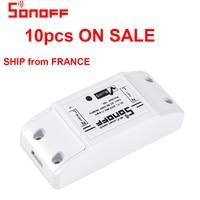 SONOFF Basic DIY Wifi Wireless Smart Switch Light Timer Remote Control 10A Alexa Universal Google Home Automation Module HWC