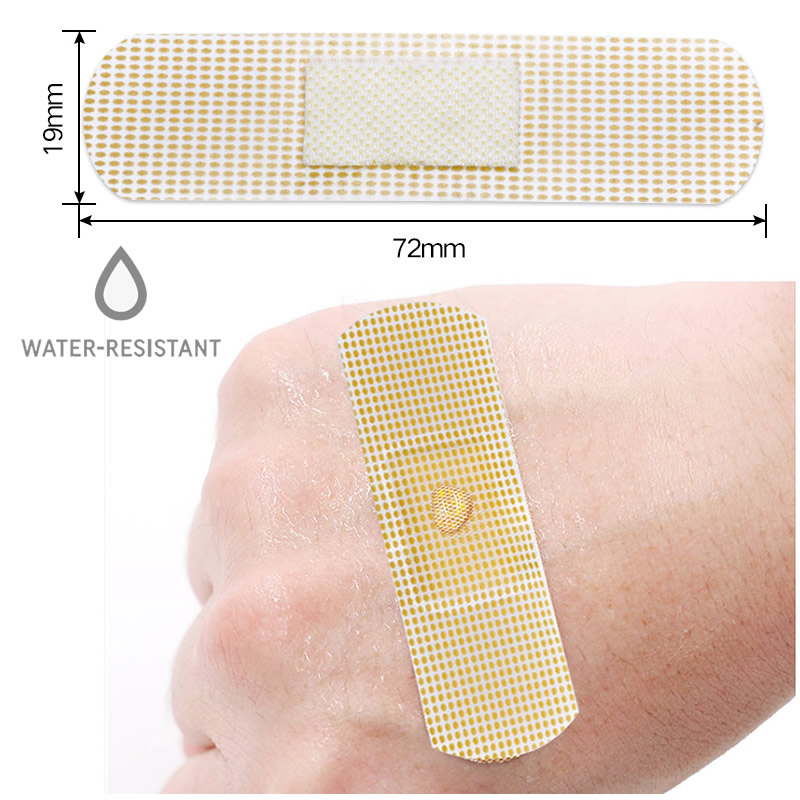 20/50/100Pcs Waterproof Band-Aid Bandages First Aid Medical Wound Treatment Plaster Home Travel Outdoor Camp Emergency Kits