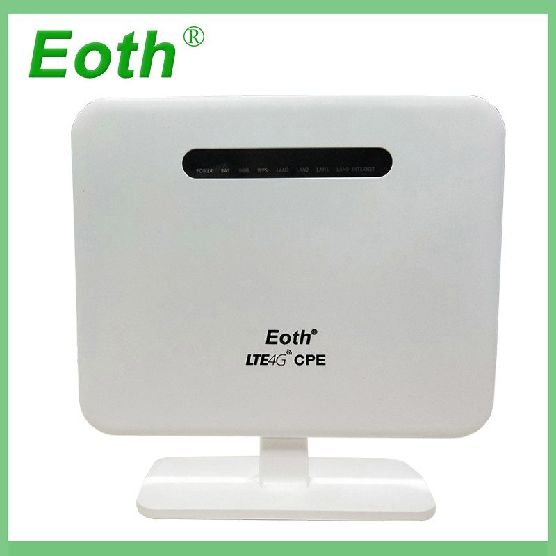 Eoth 4g Wifi Router 4g LTE CPE Mobile Router modulare entwicklung FDD-LTE 300 Mbps, TDD-LTE, WCDMA, EVDO & CDMA, GSM