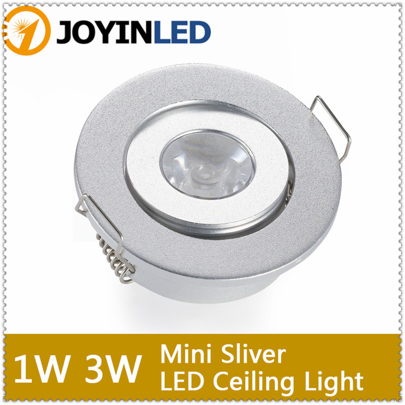 1w 3w White Warm Mini Round 3w High Power Led Recessed