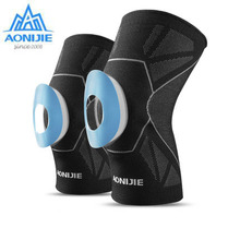AONIJIE 1 Pcs Fitness Running Cycling Knee Support Braces Elastic Leg Protective Pad Protector Compression Sleeve
